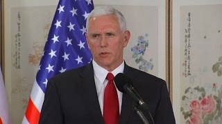 US 'strategic patience' era over with North Korea: Pence