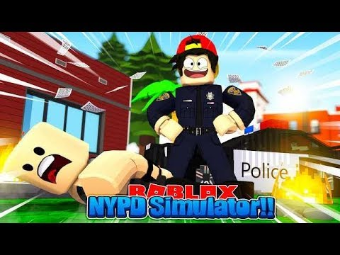 ROBLOX - NYPD POLICE OFFICER SIMULATOR!!!