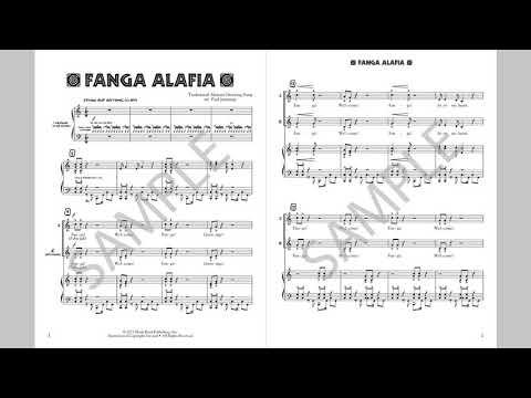 Fanga Alafia - MusicK8.com Page Turner