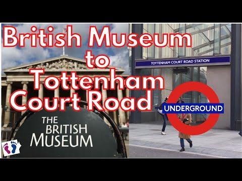 London Walk British Museum To Tottenham Court Road