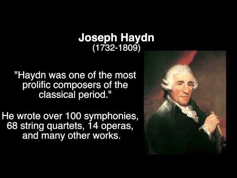 Classical Music Overview