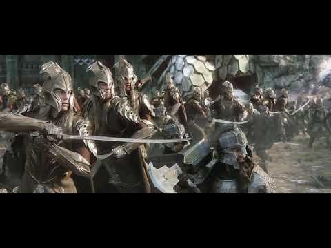 Хоббит  Битва пяти Армий Гномы напали на эльфов (Режиссер) 4k