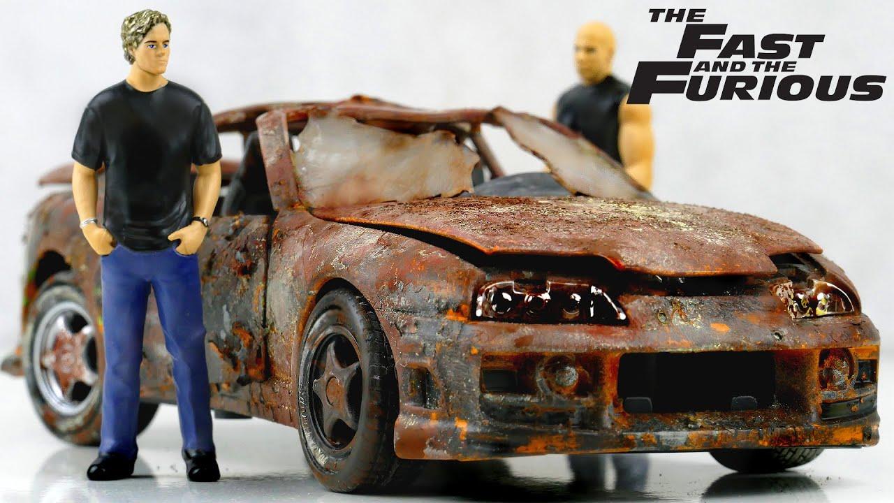 Restoration Fast & Furious Brian's Toyota Supra Paul Walker's car