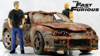 Fast & Furious Restoration Toyota Supra Paul Walker's car