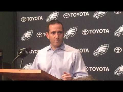 Howie Roseman explains Eagles decision to cut Josh Huff
