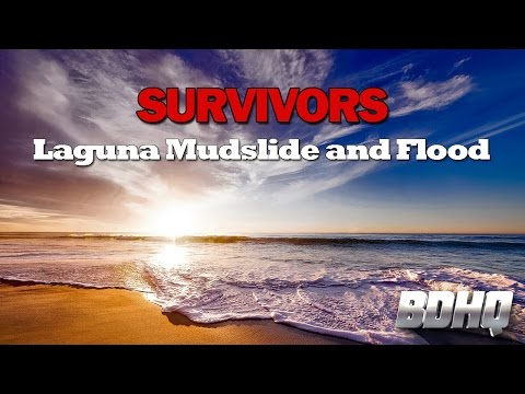 Laguna Beach Mudslide And Flood - California Disaster