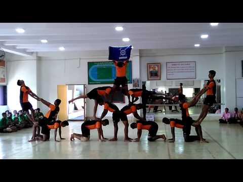 BPCA Wadala Human Pyramid compatation 2016