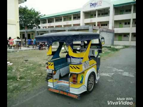Tricycle in guimbal iloilo philippines   FunnyCat TV