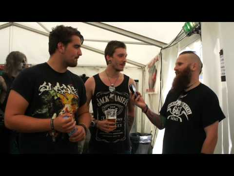 Martyr De Mona Bloodstock Festival Interview 2015