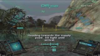 Lets Play GunGriffon: Allied Strike (Xbox) - Online Co-op - Mission 08