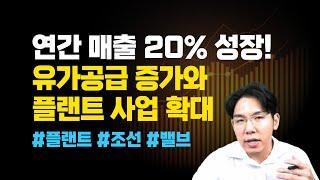 연간 매출 20% 성장…