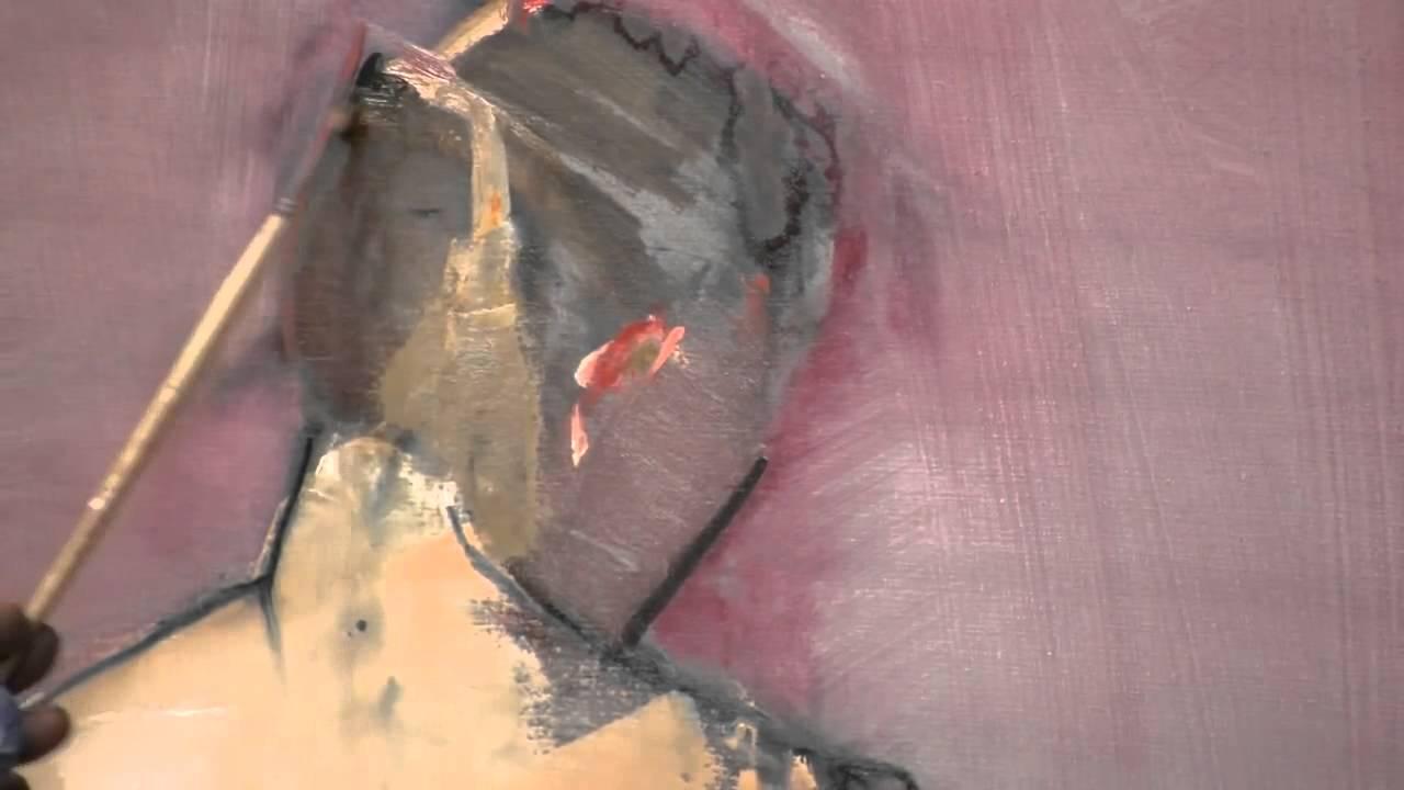 Hình họa sơn dầu