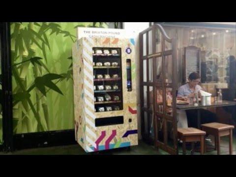 Brixton Pound Cash Machine A World First