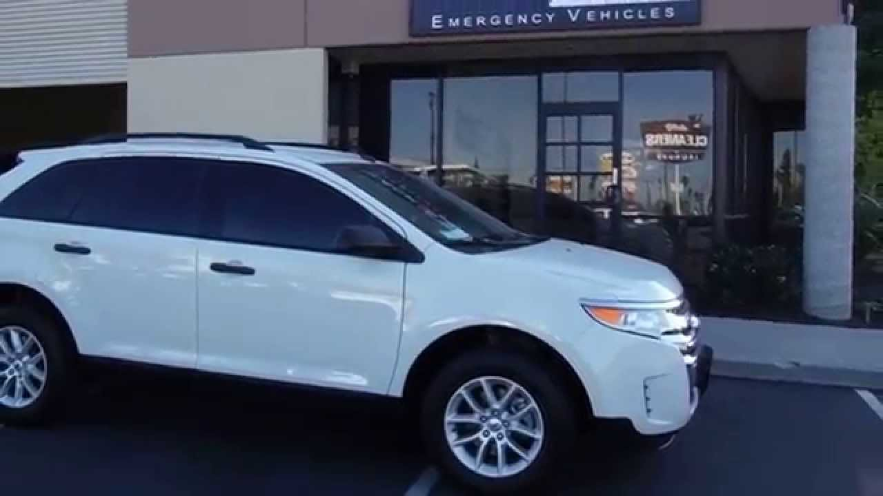 2014 Ford Edge Undercover Police Vehicle