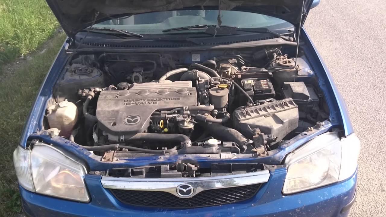 mazda 323f bj 2.0 turbo diesel - youtube