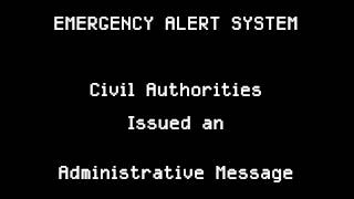 Administrative Message from NY Metropolitan Area Civil Authorities [January 7 2027]