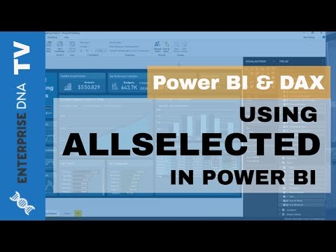 Using ALLSELECTED - DAX Formula Concepts In Power BI - YouTube