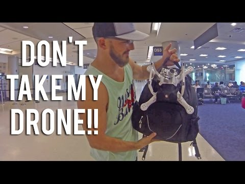DRONE IN AIRPORT | Official | TAKEN BY CUSTOMS!!