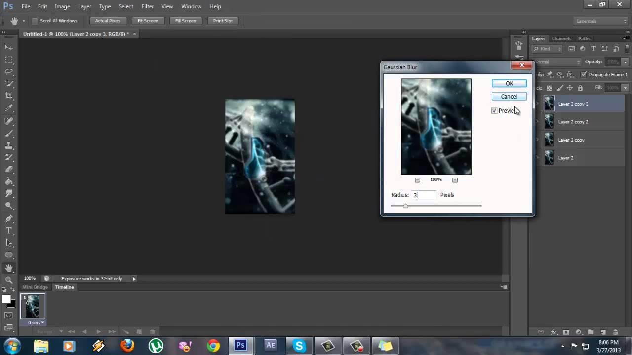 Tutorial avatar photoshop cs6 youtube baditri Images