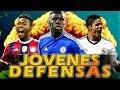 FIFA 16 - TOP 10 DEFENSAS JOVENES PROMESAS - Modo Carrera - Fichajes estrellas con Mayor Potencial