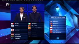 Gossip-tv.gr Eurovision 2014 Οι  χώρες που πέρασαν τελικό απο β ημιτελικό