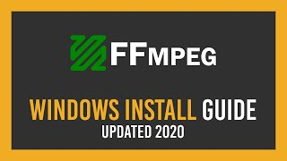 How To: Download+Install FFṀPEG on Windows 10 | 2021