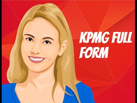 Kpmg Full Form What Does Kpmg Stand For Youtube