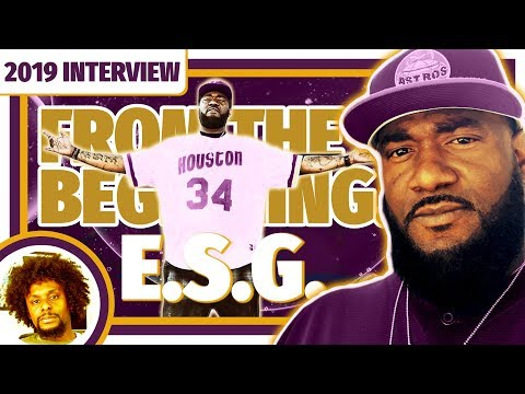 E.S.G.: Before Swangin And Bangin & The Screwed Up Click | 2019 Interview