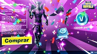 "😈 2000 GIFT PAVOS avec PACK ""DEMONIACO CUPID"" FORTNITE (FORTNITE)"