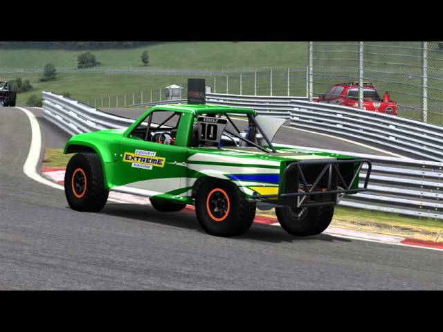 Automobilista Motorsports Simulator - Multiplayer Super Trucks battle | beta version