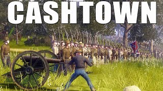 BATTLE OF CASHTOWN | 4v4 Bloody Charge! - American Civil War Mod Gameplay