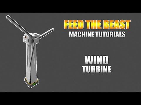 Modded Minecraft - Machine Tutorials - Mekanism: Wind Turbine