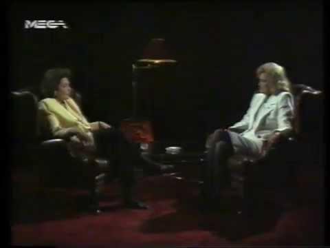 """ΣΥΛΛΕΚΤΙΚΟ: ΜΕΛΙΝΑ """"ΨΗΛΑ ΤΑ ΧΕΡΙΑ"""" (Λιάνα Κανέλλη) 24/2/1990 MEGA"""