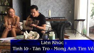 Ca Sĩ Thanh Hà | Tình Lỡ | Tàn Tro | Mong Anh Quay Về | Guitar Live  Cực Hay