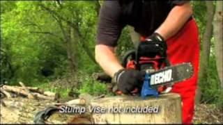 How to sharpen an ECHO chainsaw