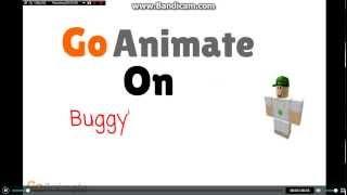 ROBLOX Buggy's Greatest Adventures on GoAnimate