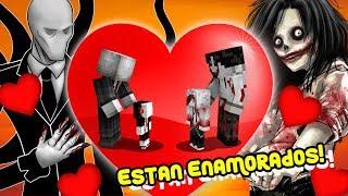SLENDERMAN Y JEFF THE KILLER SE ENAMORAN!! - EL AMOR EXISTE EN MINECRAFT