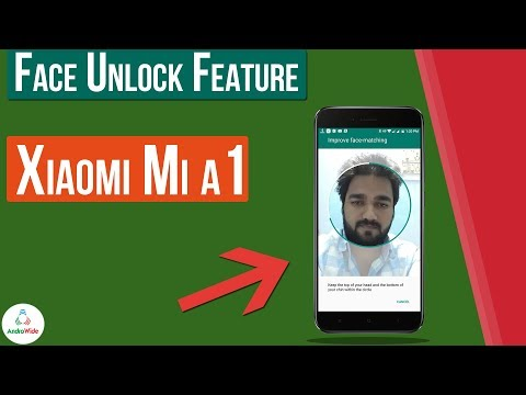 How To Use Face Unlock Feature on Xiaomi Mi A1 | हिंदी
