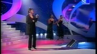 "Ozana Barabancea la  emisiunea ""Ploaia de stele 1999"" interpretand VAYA CON  DIOS"