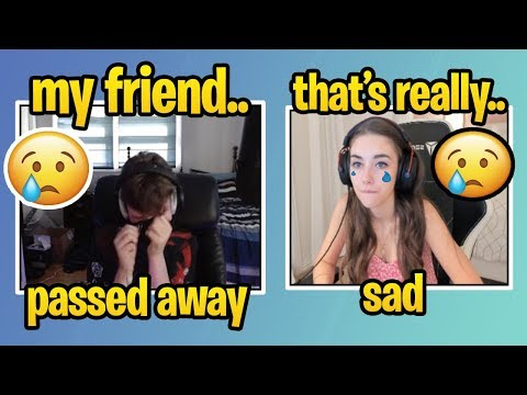 SOMMERSET Starts *CRYING* After CLIX Reveals SAD News... (RIP) (Clix Girlfriend) Fortnite