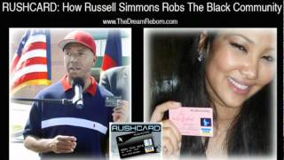 RUSHCARD  How Russell Simmons Robs The Black Community
