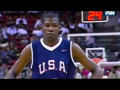 When A Pre-NBA Kevin Durant Embarrassed LeBron and Team USA
