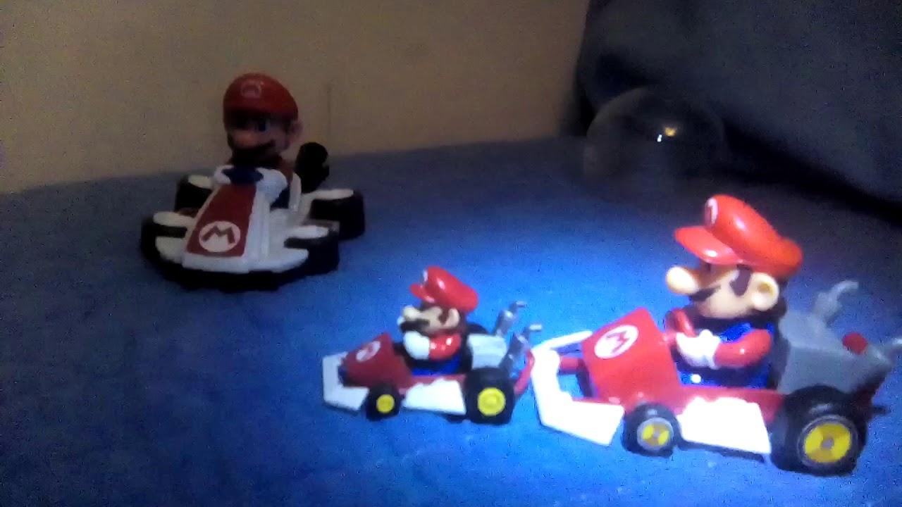 Super Mario Kart Ds Mini Mini Kart Collection Mario Figure