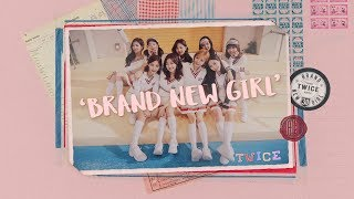 [3.58 MB] TWICE「BRAND NEW GIRL」Music Video