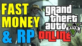 GTA 5 Online - FAST MONEY AND RP! (Violent Duct Mission Farming) Rank Up Fast on GTA 5 Online!