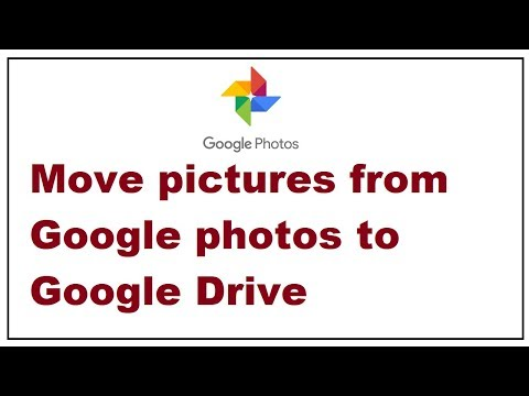 How To Move Pictures From Google Photos To Google Drive