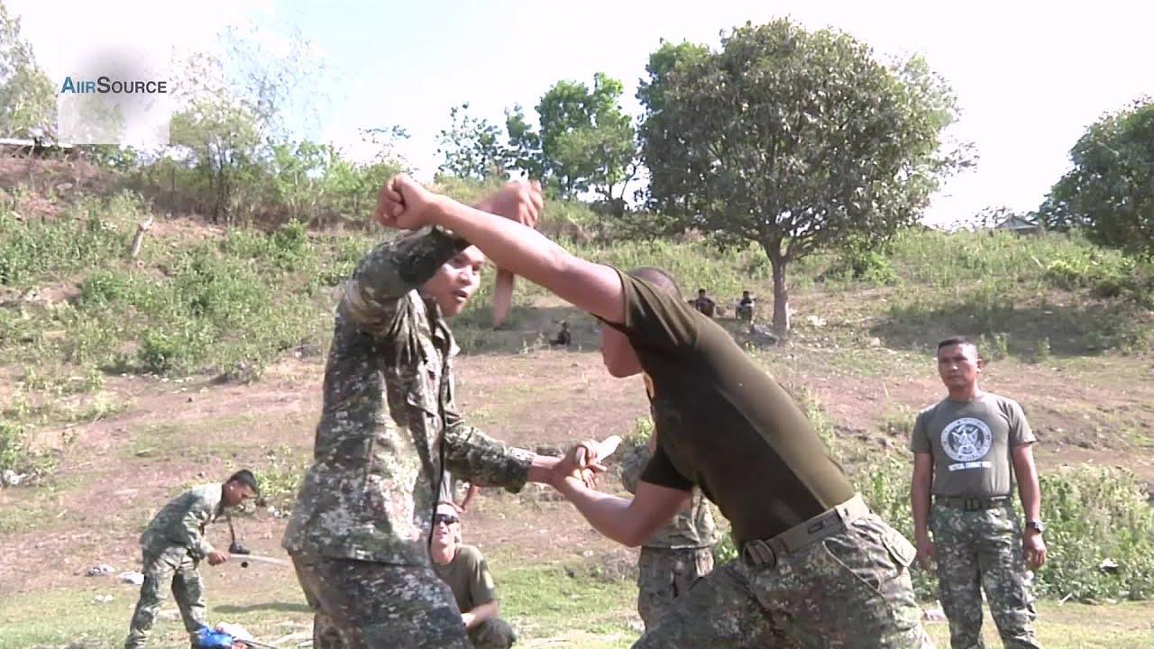 Philippine Marines Sword Knife Fighting Amp Close Quarters