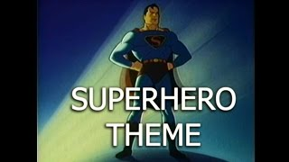 Courageous Superhero Superman Style Theme Stock Music Royalty Free