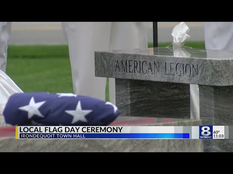 Irondequoit holds special flag day ceremony