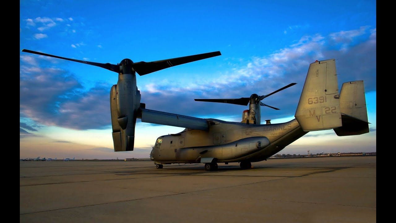 bell boeing v-22 osprey aircraft helicopter - youtube